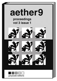 aether9 proceedings volume 3 issue 1