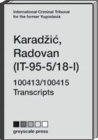 (IT-95-5/18-I) – 100413/100415